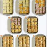 Easy party appetizer idea: sandwich sliders. 4 unique recipe variations here