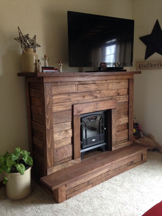 Easy DIY Pallet Projects #palletprojects #diyhomedecor #homedecorideas #diycrafts #livingroomideas #farmhousedecor #rusticdecorideas #houseideas #bedroomideas
