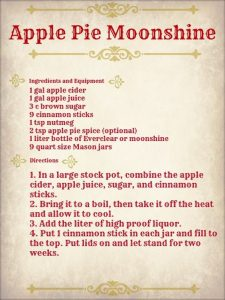 Apple Pie Moonshine recipe - make it at home and serve in mason jars