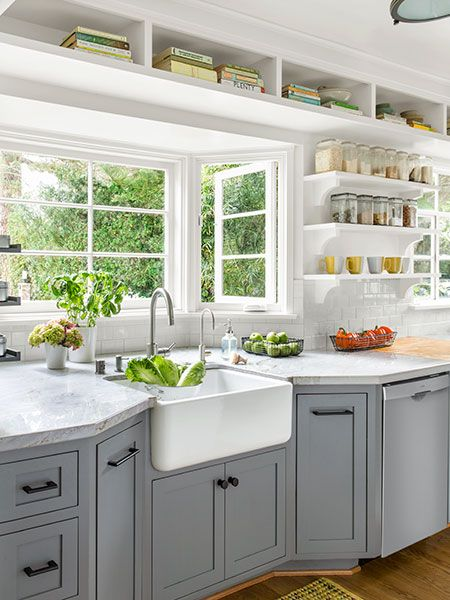 kitchen farmhouse sink design idea