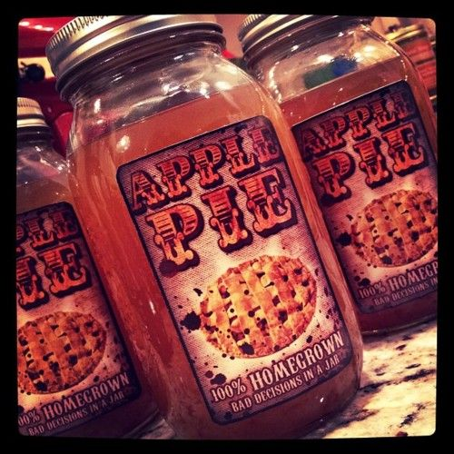 make apple pie moonshine at home - here