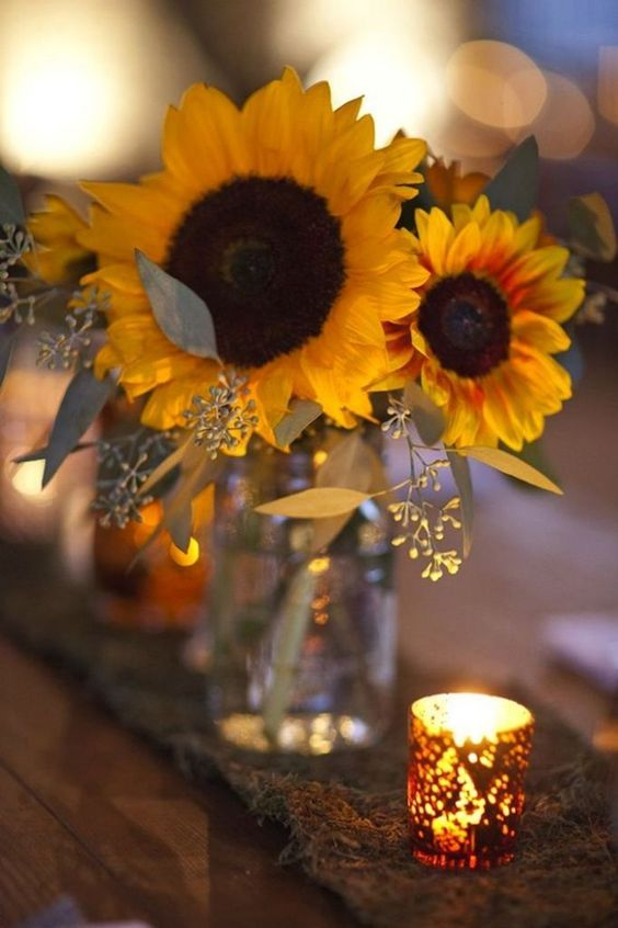 sunflower flower arrangement ideas
