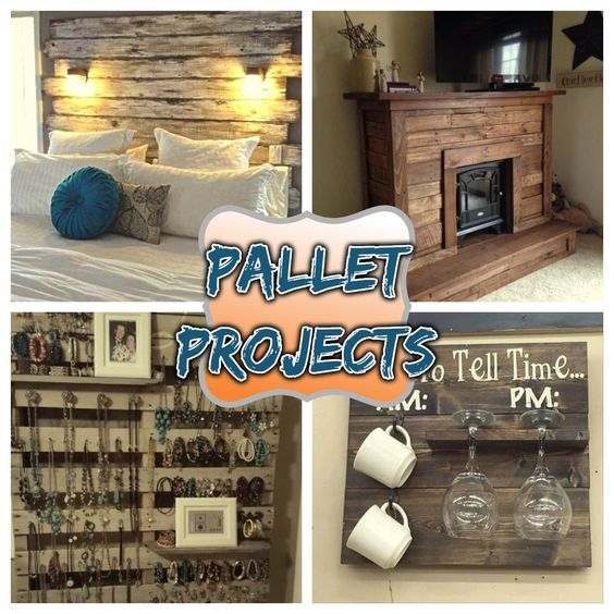 DIY pallet wood project ideas #palletprojects #diyhomedecor #homedecorideas #diycrafts #livingroomideas #farmhousedecor #rusticdecorideas #houseideas #bedroomideas