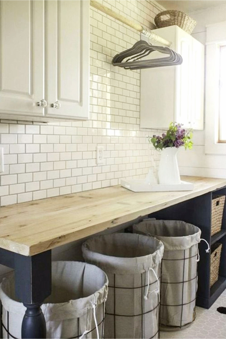 Attractive Modern Farmhouse Decor Ideas   Modern Farmhouse Laundry Room Decorating  Ideas
