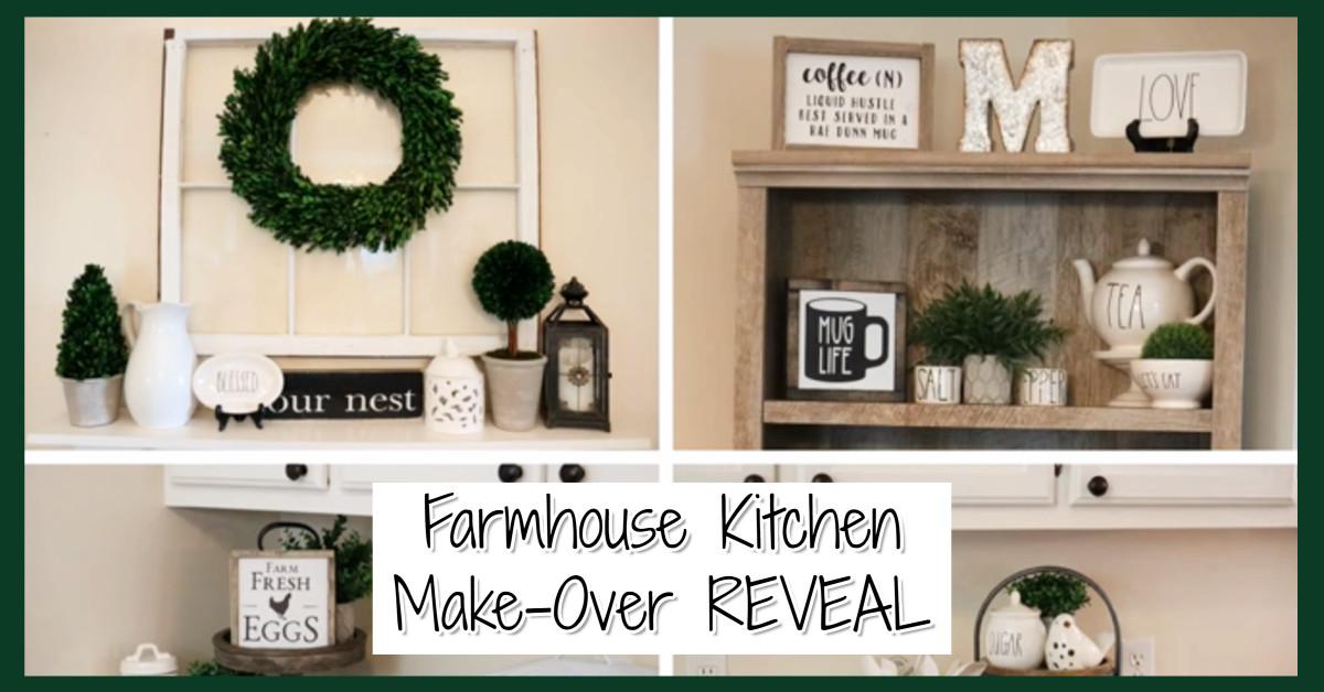 Farmhouse kitchen remodel REVEAL!