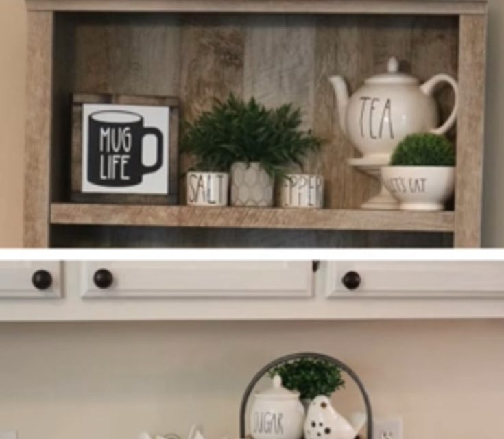 Modern Farmhouse Kitchen Makeover REVEAL!